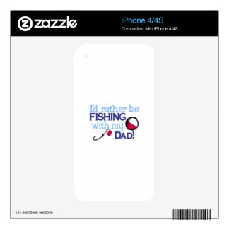 Dad Decals For iPhone 4S