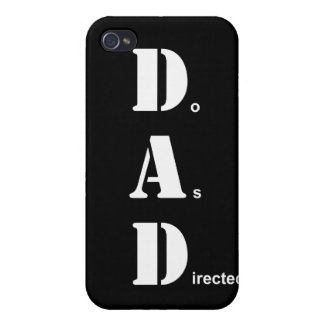 DAD, Do As Directed iPhone 4 Cover
