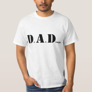 DAD, Do As Directed T-Shirt