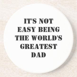 Dad Drink Coaster
