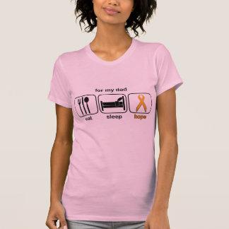 Dad Eat Sleep Hope - Leukemia T Shirt
