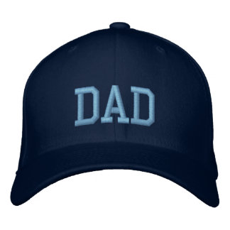 Dad - Embroidery Embroidered Baseball Caps