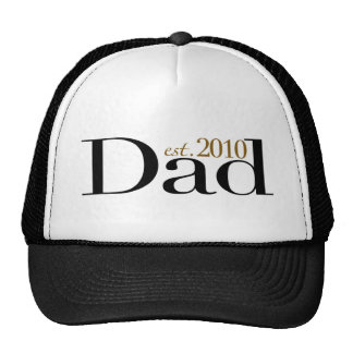 Dad Est 2010 Mesh Hat