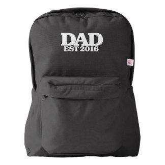 Dad est 2016 backpack