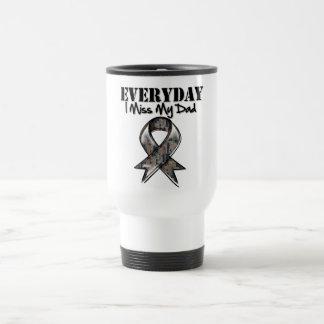 Dad - Everyday I Miss My Hero Military Travel Mug