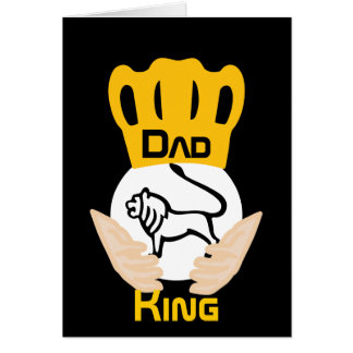 Dad Family Lion King-Customize Card