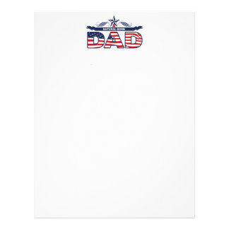 Dad, Father, A Natural Born Dad Letterhead