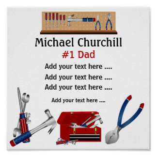 Dad / Father / Grandfather  Poster - SRF