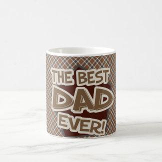 Dad Father's Day Argyle Pattern Classic White Mug Basic White Mug