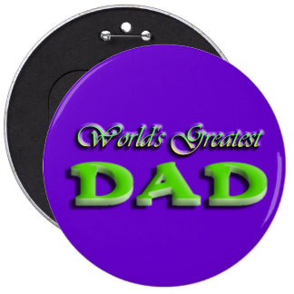 Dad Fathers Day Button