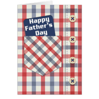 Dad, Father's day greeting card, Happy Father's Card
