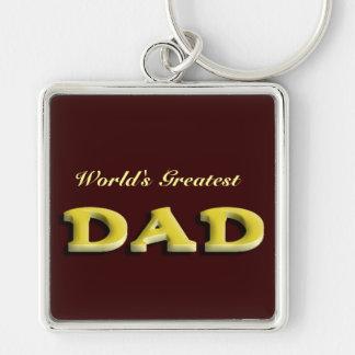 Dad Fathers Day Keychain