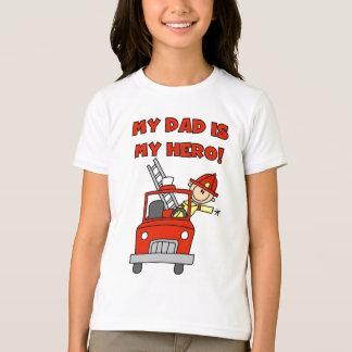 Dad Firefighter Hero T-Shirt