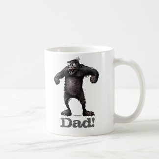 Dad! Funny Monkey Father's Day Coffee Mug