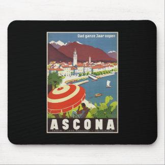 Dad ganze Jaar oopen Ascona Mouse Pad