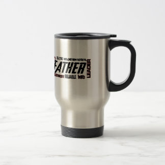 Dad Gift Fathers Day Strong Describe Travel Mug