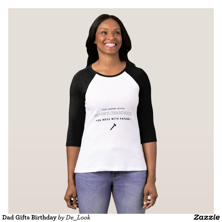 Dad Gifts Birthday T-Shirt - Best Selling Long-Sleeve Street Fashion Shirt Designs