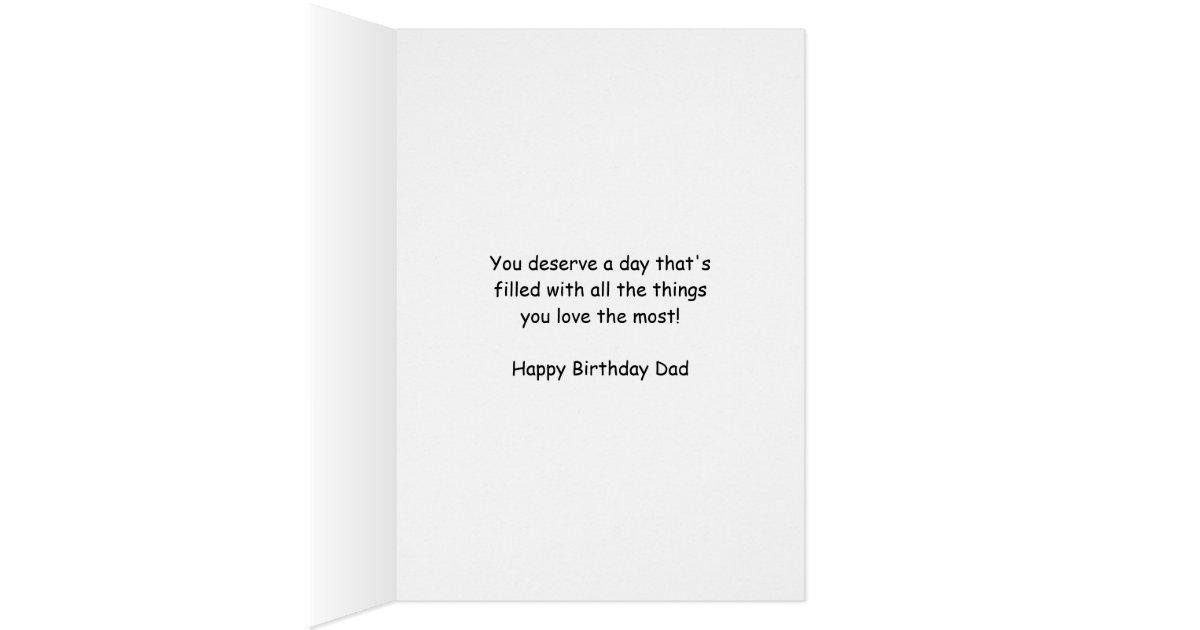 dad golfer birthday greeting card humor com