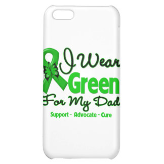 Dad - Green Awareness Ribbon Case For iPhone 5C