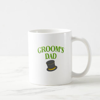 dad -groom- top hat coffee mug