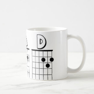 DAD guitar chords Classic White Coffee Mug