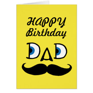 happy birthday dad greeting cards  zazzle, Birthday card
