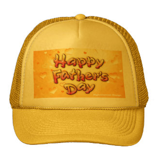 DAD, HAPPY FATHER DAY TRUCKER HAT