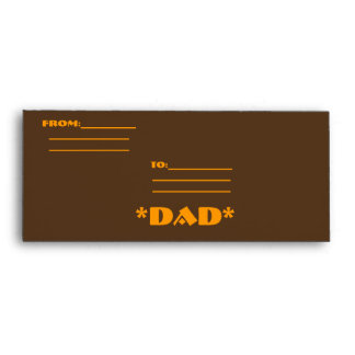 *DAD* HAPPY FATHERS DAY ENVELOPE