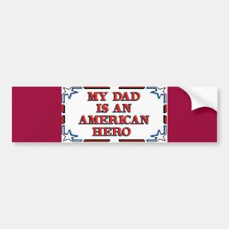 Dad Hero Bumper Sticker