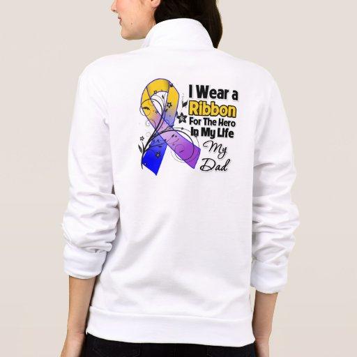 Dad Hero in My Life Bladder Cancer T-shirt