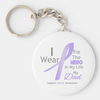 Dad - Hero in My Life - General Cancer Key Chains