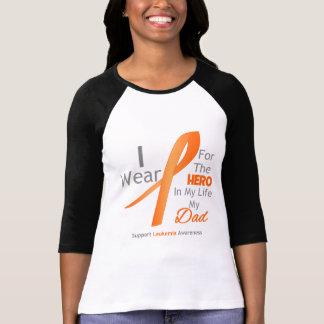 Dad - Hero in My Life - Leukemia T Shirt