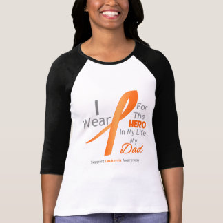 Dad - Hero in My Life - Leukemia T Shirts