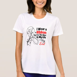 Dad Hero in My Life Lung Cancer T-Shirt