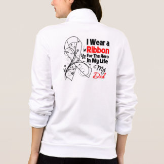Dad Hero in My Life Lung Cancer Printed Jackets