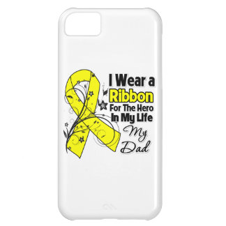 Dad Hero in My Life Sarcoma Awareness iPhone 5C Covers