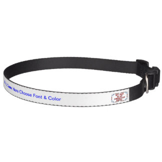Dad Hero Pet Collar