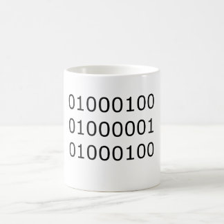 Dad in Binary Coffee Mug