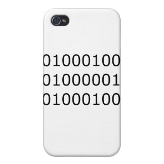 Dad in Binary iPhone 4 Cases