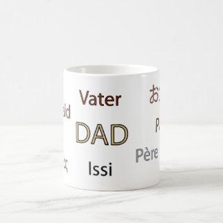 Dad in Many Languages Mug