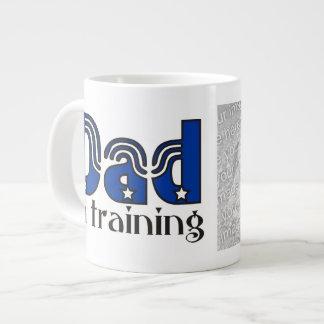 Dad in Training Photo Jumbo Mug