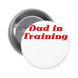 Dad in Training Pin