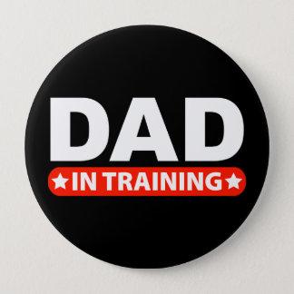 Dad In Training Pinback Button
