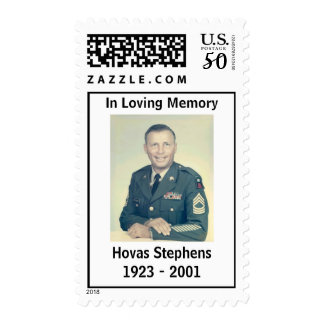 Dad-in-Uniform, In Loving Memory, Hovas Stephen... Postage