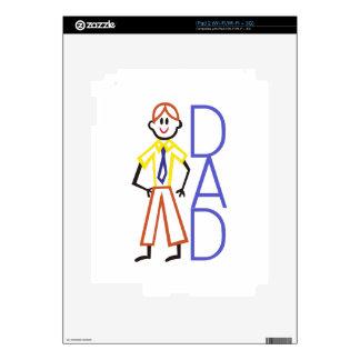 Dad iPad 2 Skin