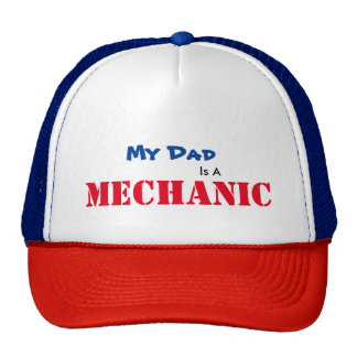 Dad is a mechanic hat