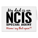 Dad Is An NCIS Special Agent Cards