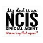 Dad Is An NCIS Special Agent Postcard
