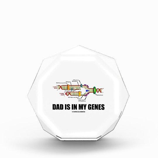 Dad Is In My Genes (DNA Replication) Acrylic Award