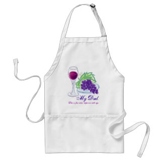 Dad is Like Wine Adult Apron